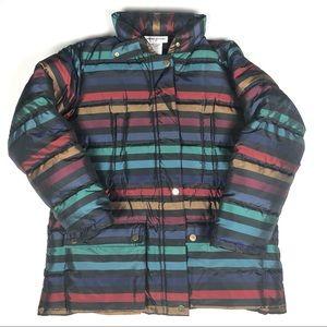 Sonia Rykiel Silk blend puffer Down Jacket sz L